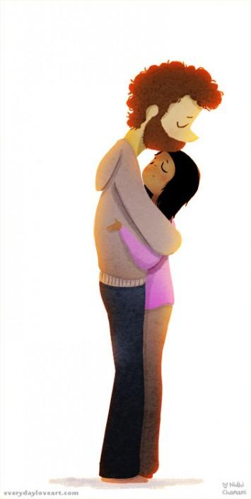 Einfach so umarmen