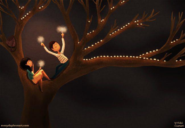 Auf den Baum klettern