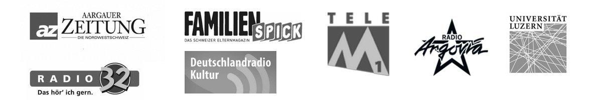Logos Referenzen sw