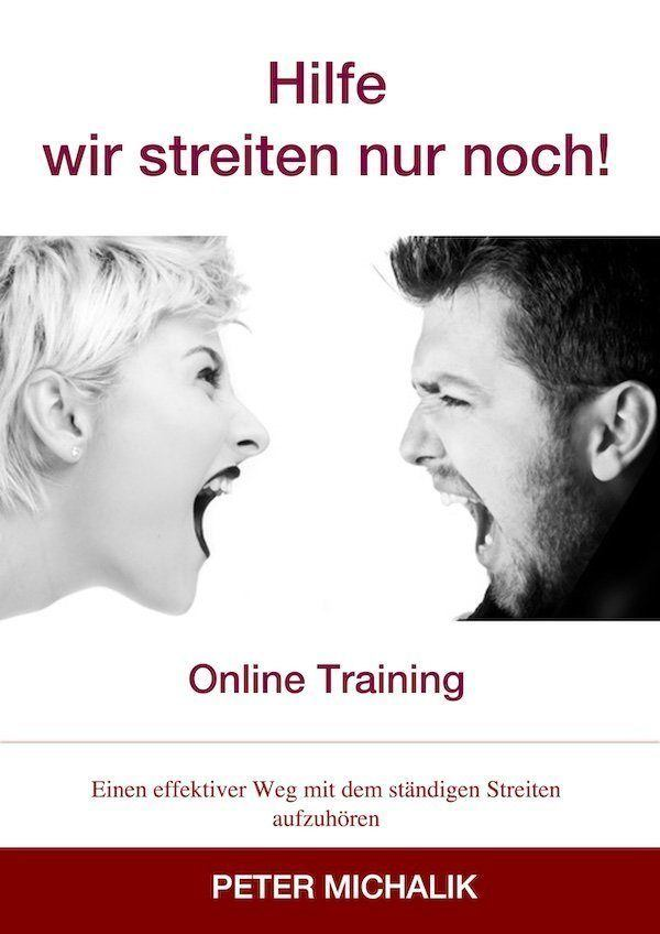 Cover Freebie Training wir streiten nur noch red