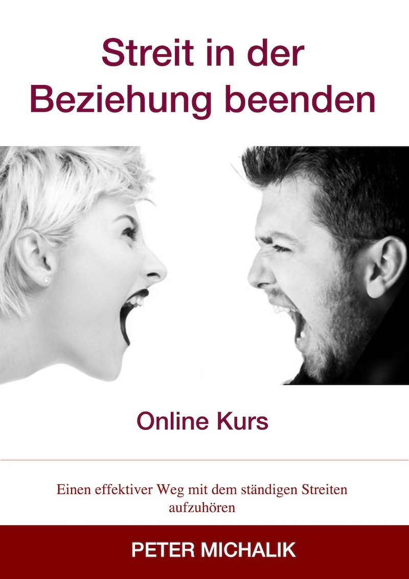 Cover Kurs Streit beenden red